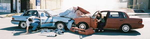 Air Car Crash
