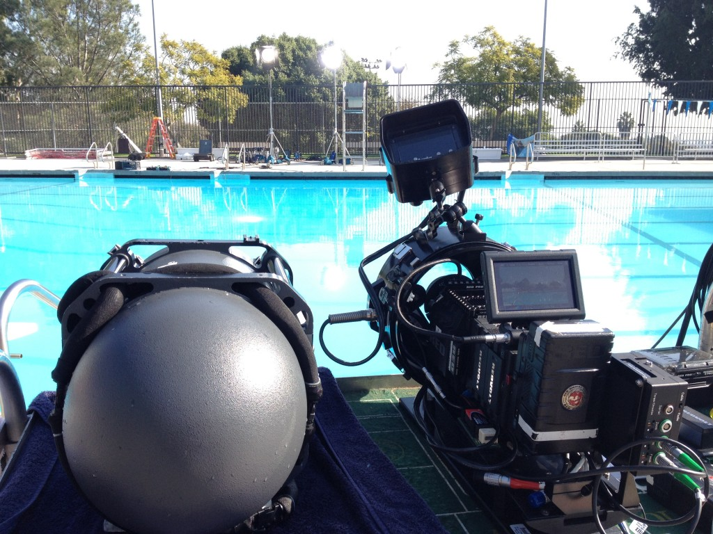"RED EPIC and HydroFlex Underwater Housing on the set of ""Drown"""
