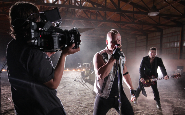 "Jeremy Osbern shooting ""Bad Side"" by Syn City Cowboys using the RED EPIC Camera w/ Zeiss Superspeed Primes and LOMO Anamorphic Lenses"