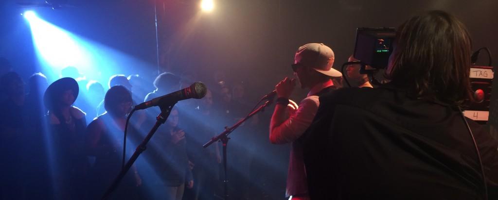 Jeremy-Osbern-shooting-Johnny-Williams-hip-hop-music-video